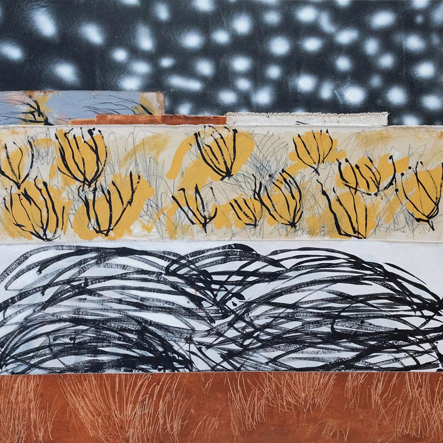 Jackson-Lloyd_Helena_Desert-Night_160x160cm_Mixed-Mediaon-Sewn-Canvas