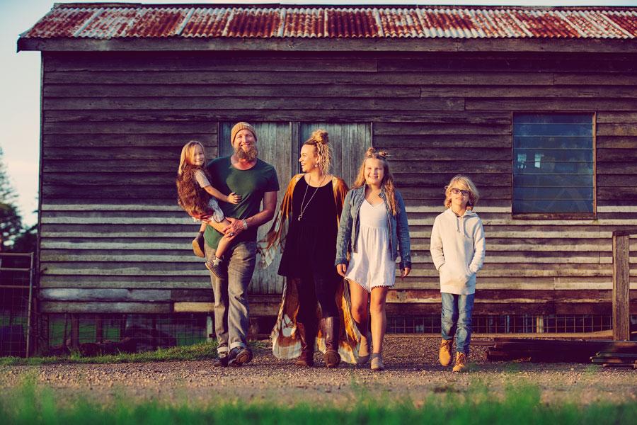 family photo by vivid photography